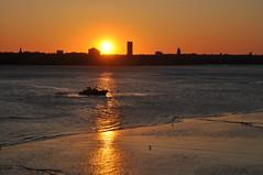 Liverpool (Gatodidi) Tags: uk inglaterra england sol liverpool puerto atardecer barco playa puesta ocaso albertdock reinounido panoramafotogrfico