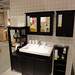 イケアの家具で作るアジアンな洗面台の写真