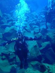 Diving Silfra 16
