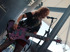 "Girlschool @ RockHard Festival 2012 • <a style=""font-size:0.8em;"" href=""http://www.flickr.com/photos/62284930@N02/7450017076/"" target=""_blank"">View on Flickr</a>"