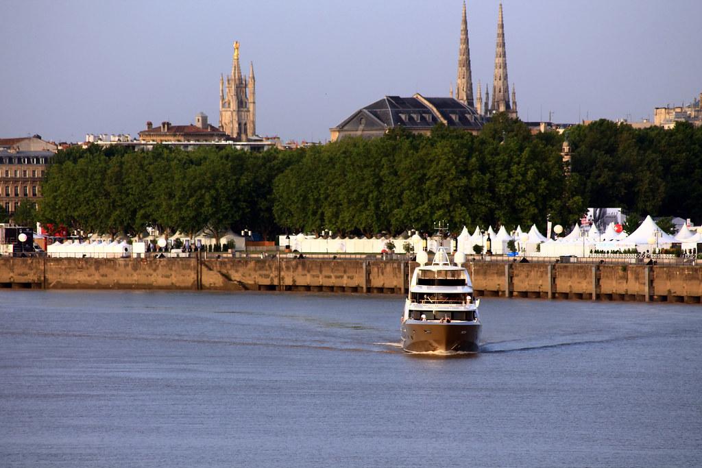 La Pellegrina quitte Bordeaux - 28 juin 2012