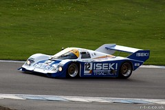 Russell Kempnich driving a Porsche 956 (Tim R-T-C) Tags: porsche motorracing sportscar motorsport autosport carracing groupc sportscarracing doningtonpark historicracing porsche956 classicracing groupcracing russellkempnich doningtonhistoric