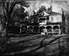 Benares House (scilit) Tags: trees light blackandwhite museum architecture shadows structure historic porch georgian sincity jalna artlegacy benareshouse mazodelaroche daarklands netartii