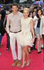 Lydia Bright and Tom Kilbey The UK premiere of Katy Perry:Part of Me 3D held at the Empire Leicester Square - Arrivals. London, England