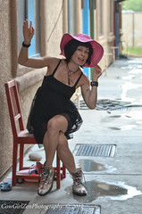 Paris (Song River- CowGirlZen Photography) Tags: hello pink red vacation black paris france smile french happy photography chair alley nikon gray parks dailycommute greetings setting blackdress cowgirlzen cowgirlzenphoto