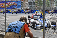 Turn 5 Photo Hole (HondaIndyToronto) Tags: toronto ontario canada honda photographer indy hotwheels citgo indycar takumasato izod exhibitionplace turn5 mijack streetsoftoronto robertsphoto ejviso kvracingtechnology rahallettermanlaniganracing photohole mediahole richardwintle