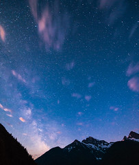 Rising Milky Way (absencesix) Tags: longexposure travel sky usa mountains nature weather clouds stars iso3200 washington unitedstates july noflash galaxy northamerica rockport locations 2012 milkyway cascaderange locale movingclouds northerncascades manualmode diablolake 14mm northerncascadesnationalpark astronomicalobject geo:state=washington geo:city=rockport 1424mmf28 exif:iso_speed=3200 hasmetastyletag hascameratype naturallocale selfrating4stars exif:focal_length=14mm camera:make=nikoncorporation afsnikkor1424mmf28g exif:make=nikoncorporation geo:countrys=usa exif:lens=140240mmf28 300secatf28 exif:aperture=28 subjectdistanceunknown rockportwashingtonusa nikond800e 2012travel exif:model=nikond800e camera:model=nikond800e july72012 northerncascadesnationalpark0707201207082012 484236n121548w geo:lat=48710121 geo:lon=121096604
