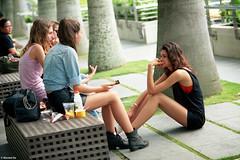 street life (The91) Tags: street woman sun hot color film girl beauty wonderful dc nikon singapore afternoon kodak sleep 28mm leg negative 100 nikkor fm3a ektar 105mm nikonfm3a seriese nikkoraf105mmf2ddc nikonlensseriese28mmf28