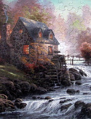 """Cobblestone Mill"" (Explore #261, July 21, 2012) (Puzzler4879) Tags: mills puzzles pointshoot puzzling canonpowershot thomaskinkade kinkade canondigital canonaseries canonphotography wonderfulphotos jigsawpuzzles a590 canonpointshoot flickraward flickrbronzeaward a590is qualitypixels canona590is canonpowershota590is powershota590is canona590 dragonflyawards handselectedphotographs mygearandme redgroupno1 yellowgroupno2 greengroupno3 cobblestonemill universalphotographer creativephotocafe"