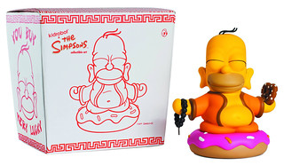 Kidrobot X The Simpsons辛普森佛陀河馬