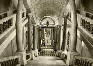 L'autre escalier du Vatican