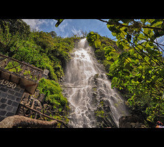 Waterfalls in Baos Ecuador (departing(YYZ)) Tags: travel southamerica nature water america waterfall ecuador nikon sigma fresh latin dslr 1770 banos hotsprings baos 2011 sudamrica d90 amricadelsur f2840 departingyyz