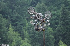 Julian Dusseau - 069 (Hyperflange Industries) Tags: jumping julian nikon freestyle raw nef bikes professional dirt event motorcycle rodeo jumper nikkor rider motocross fortuna stunt fmx d90 capturenx 1685mm capturenx2 dusseau