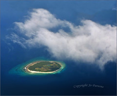 Tropical Paradise (jo92photos) Tags: ocean blue sea seascape clouds marine paradise indianocean aerialview aerial tropicalisland whitesand idyllic birdseye coralreef ©allrightsreserved clearsea challengeyou themaldives thechallengegame challengegamewinner attol jo92photos hs20exr