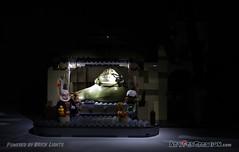 2 Jabba's palace front dark (Artifex creation) Tags: classic set starwars desert lego princess guard palace jabba minifig chewbacca leia oola 2012 hansolo tatooine hutt minifigure boushh anewhope lightbrick salaciouscrumb episodeiv bibfortuna 2013 9516 gamorrean bomarrmonk artifex bricklights legolights lifelights artifexcreation