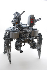 REAPER (WIP) (blamos86) Tags: fiction robot tank lego science weapon future artillery fi sci mech moc tachikoma