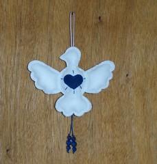 Espírito Santo (Priscila Mancebo) Tags: feltro santo espírito pomba pendurar