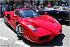 Ferrari Enzo in Monaco (Driss Romain Dinar (Grand-Est-Supercars.com)) Tags: street blue red white cars sport mercedes dubai italia ferrari voiture casino monaco bleu mclaren porsche enzo u1 cayman carlo monte gt 27 lamborghini rs luxe mp4 sls mig amg carrera f430 supercars roadster arabs techart gemballa 458 12c worldcars aventador lp700