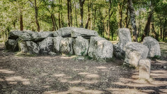 Dolmen de Man-Groh (Stphane Slo) Tags: erdeven et france nolithique paysage pentax pentaxk3ii bretagne dolmenmancroch dolmencouloirtransept fort landscape mgalithe sigma1750f28