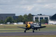 Vought F4U Corsair-5 (Clubber_Lang) Tags: airshow corsair farnborough f4u vought fia2016