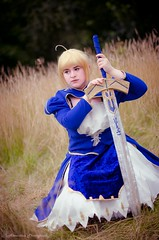 Saber (acousticaa) Tags: saber fatestaynight fate amecon2016 sword