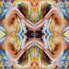 2016-08-17 symmetrical nude paintings 1 (april-mo) Tags: symmetry symmetrical symtrie collage art paintin painting woman womanportrait charm