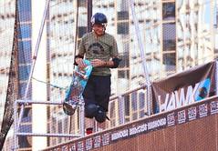 Skateboarder Legend .... Tony Hawk .... Dundas Square, Toronto, Ontario, Canada (Greg's Southern Ontario (catching Up Slowly)) Tags: tonyhawk skateboarder skateboarding skateboardinglegendtonyhawk sports sportsphotography nikon nikond3200 toronto dundassquare thebirdman tonyhawktoronto vertskateboarding