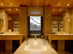 Aman Le Melezin bathroom (5StarAlliance) Tags: amanlemelezin lemelezin alps fivestaralliance fivestar deluxe top best amanresort skiresort