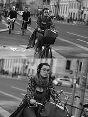 [La Mia Citt][Pedala] (Urca) Tags: milano italia 2016 bicicletta pedalare cicllista ritrattostradale portrait dittico nikondigitale mir bike bicycle biancoenero blackandwhite bn bw 881129