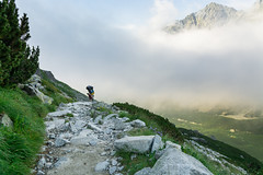 Nosicz na szlaku. I plecak staje si lejszy (czargor) Tags: outdoor inthemountain mountians landscape nature tatry mountaint igerspoland