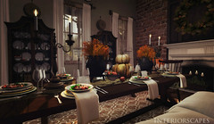 The Feasts Of Fall Are Coming (Sadie Nova) Tags: secondlife shadows scarletcreative sl applefall revival lisp interiorscapes interiordesign pixelmode photography bazar atomic jian tarte
