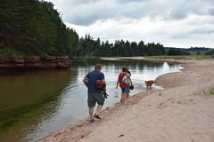 PEI - 2016-07-0104 (MacClure) Tags: canada pei princeedwardisland littleharbour beach family patty lindsay dog