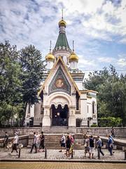Sofia Bulgaria - The Russian Orthodox Church (andreamaggio87) Tags: sofia bulgaria street photography love church landscaper architecture sofiacity bg