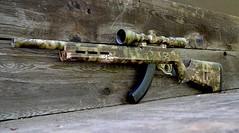 Rifle & Scope Skin in Mandrake Camo (GunkSkins) Tags: gunskins hunting rifle rifleskin huntingrifle riflecamo riflewrap kryptek mandrake gunwrap guncamo