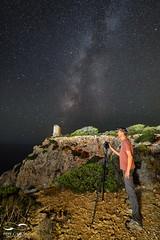 Torre cala Figuera (ppgarcia72) Tags: nikon samyang nocturna milkyway vialactea longexposure largaexposicin noche stars estrellas nikond610 samyang14mm mallorca espaa lovemallorca