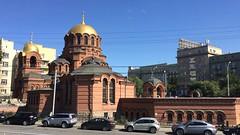 Novosibirsk. August 2016 (nikolasrybin) Tags: church temple sibiria novosibirsk architecture orthodoxy religio iphone5s russia traveling iphone apple