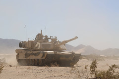 Area Defense (pao3abct) Tags: 3rdarmoredbrigadecombatteam 3abct 4thinfantrydivision 4id 410cav 166armorregiment 168armor abrams tank bradley ntc national training center fortirwin nationaltrainingcenter army fortcarson