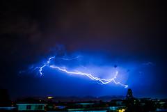 Lightening over Islamabad (Masroor Gilani) Tags: pakistan islamabad weather lightening monsoon