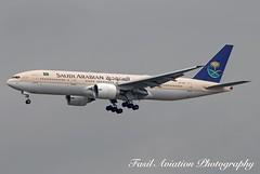 Saudi Arabian Boeing 777-268(ER) HZ-AKF (MSN007) Tags: saudi arabian boeing 777268er hzakf air airways airlines airport jfk kjfk 777 200 er jet aircraft airplane airliner jetliner