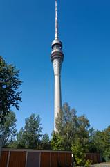 Fernsehturm Hochformat (Veit Schagow) Tags: fernsehturm broadcasttower tvtower dresden saxony