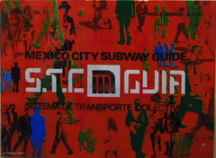 MEXICO CITY SUBWAY GUIDE (Christian Linarez) Tags: muac metrodf stcmetro stc 47 aniversario archivo metro subway subterrneo mexico city 1969