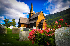 Stavkirke Lom (Norway) (serarca) Tags: stavkirke lom noruega norway medieval edificio arquitectura iglesia church madera wood siglo xii