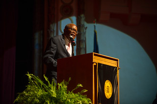 Fred Gray at President Garrett Inauguration - September 15, 2016
