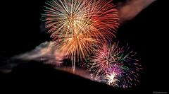 Fireworks (@Dpalichorov) Tags: fireworks night darksky dark sky trails lights light nikond3200 nikon d3200 varna bulgaria holiday   action clouds lighttrails fireworkstrails fire lines texture blackbackground autofocus nikonflickraward