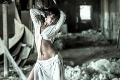 Arianna_by_Fabio_Pellei (fabiopellei) Tags: aria modella arianna thread fabio pellei portrait ritratto seppia nuda nude art