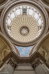 Pantheon 04 (mika.pics) Tags: paris pantheon lookingup architecture colors nikon nikond3200 perspective parisien france