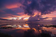 Scenes of sunset