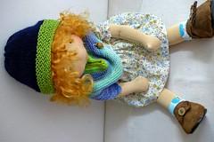 """MICHELA 20"""" doll (Dearlittledoll) Tags: dearlittledoll waldorf waldorfboy waldorfdoll steinerdoll artdoll naturaldoll"""