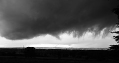 scary skyscapes (2) (Ange 29) Tags: sky storm clouds holland marsh valley bw olympus omd em1 1435mm zd king township canada
