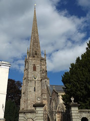 St Mary's Priory Church, Monmouthshire, 22 September 2016 (AndrewDixon2812) Tags: stmary stmarys priory church steeple spire monmouth monmouthshire wales trefynwy